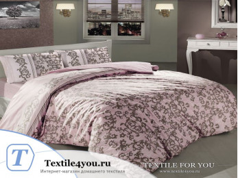 Постельное белье RANFORCE SUAVE (1,5 спальный) - (50x70 см - 1 шт.) - Розовый
