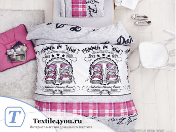 Постельное белье RANFORCE MOLLY (1,5 спальный) - (50x70 см - 1 шт.) Фуксия