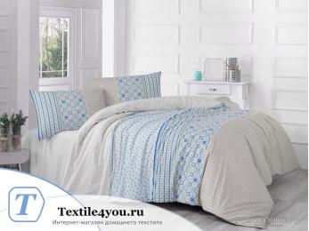 Постельное белье RANFORCE ESPINELA (1,5 спальный) - (50x70 см - 1 шт.) Коричневый