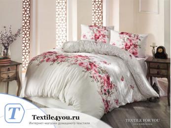 Постельное белье RANFORCE BELISSA (1,5 спальный) - (50x70 см - 1 шт.) Бежевый