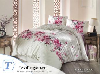 Постельное белье RANFORCE BELISSA (1,5 спальный) - (50x70 см - 1 шт.) Кремовый