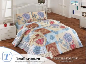Постельное белье RANFORCE STEL (1,5 спальный) - (50x70 см - 1 шт.)