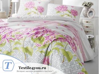 Постельное белье RANFORCE LARIN (1,5 спальный) - (50x70 см - 1 шт.) Сиреневый