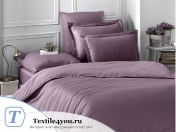 Постельное белье KARNA LOFT однотонное (1,5 спальный) Розовый