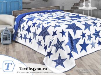 Плед KARNA STARS (130x170 см) Голубой