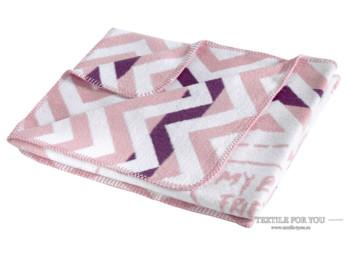 Плед KARNA FRINENDY (90x120 см) Розовый