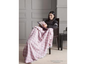 Плед KARNA ISABELLA (130x150 см) Розовый