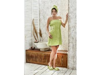 Набор для сауны женский KARNA PARIS - Зеленый