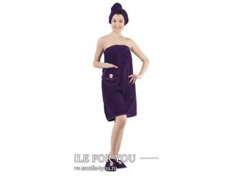 Набор для сауны женский KARNA PARIS - Фиолетовый
