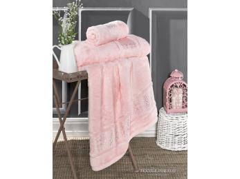 Полотенце бамбуковое KARNA ARMOND - 70x140 см (1 шт.) Розовый