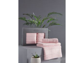 Набор полотенец KARNA ARMOND (2 шт.) Розовый