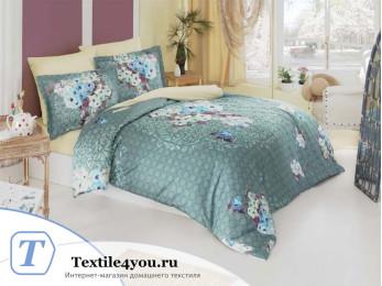 Постельное белье KARNA TIVOL Сатин DELUX (1,5 спальный)