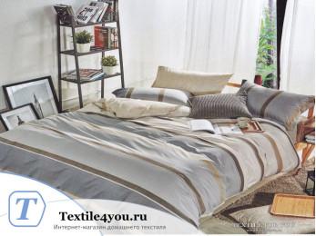 Постельное белье KARNA FLOKSY Сатин DELUX (1,5 спальный)