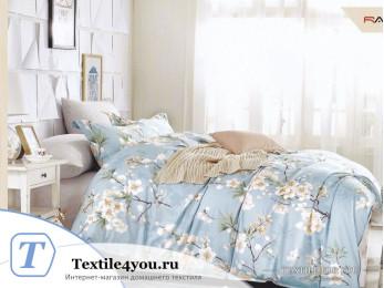 Постельное белье KARNA ISABEL Сатин DELUX (1,5 спальный)