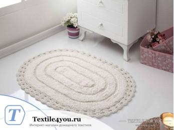 Коврик для ванной MODALIN YANA - (50x70 см) - Кремовый