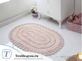 Коврик для ванной MODALIN YANA - (50x70 см) - Пудра