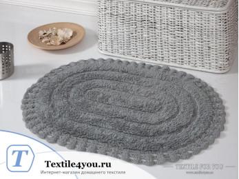 Коврик для ванной MODALIN YANA - (50x70 см) - Серый