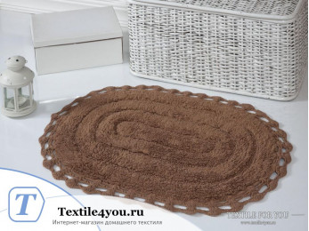 Коврик для ванной MODALIN YANA - (50x70 см) - Горчичный