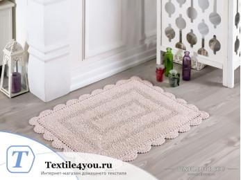 Коврик для ванной MODALIN EVORA - (50x70 см) - Пудра