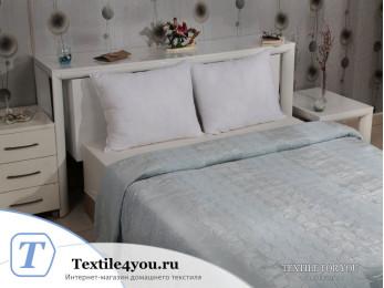 Плед KARNA PALMA Велсофт Жаккард (160x220 см) - Синий