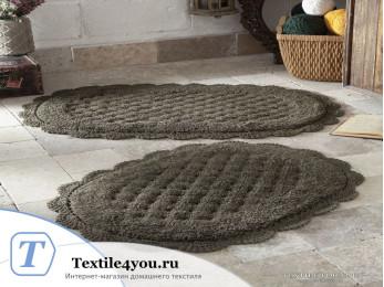 Набор ковриков для ванной MODALIN MERIT (50x80 см; 45x60 см) Коричневый