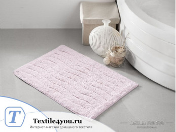 Коврик для ванной MODALIN AREN (40x60 см) Розовый