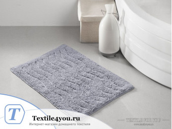Коврик для ванной MODALIN AREN (40x60 см) Серый