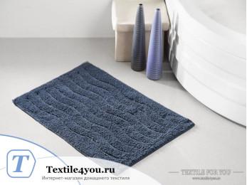 Коврик для ванной MODALIN AREN (40x60 см) Синий