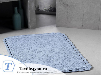 Коврик для ванной MODALIN DARIN (55x85 см) Голубой
