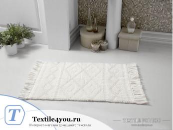 Коврик для ванной MODALIN LOTUS (50x80 см) - Кремовый
