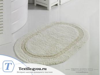 Коврик для ванной MODALIN RACET (60x100 см) - Кремовый