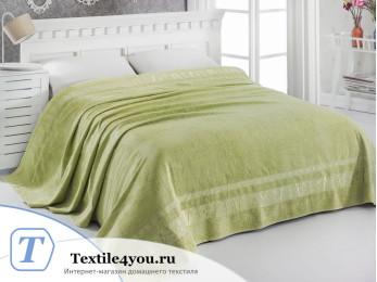 Простынь бамбуковая PUPILLA ELIT (160x220 см) - Зеленый