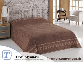 Простынь бамбуковая PUPILLA ELIT (160x220 см) - Коричневый