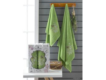 Набор полотенец MERZUKA PAPILLON (2 шт.) Зелёный