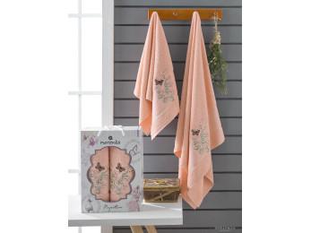 Набор полотенец MERZUKA PAPILLON (2 шт.) Оранжевый