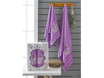 Набор полотенец MERZUKA PAPILLON (2 шт.) Фиолетовый