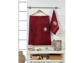 Набор для сауны женский JUANNA BRODE - Бордовый