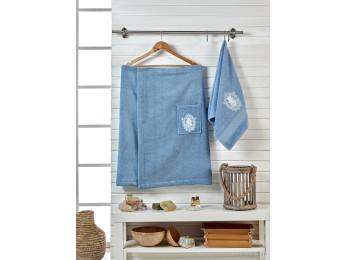 Набор для сауны женский JUANNA BRODE - Голубой
