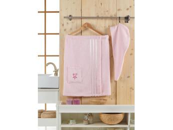 Набор для сауны женский JUANNA SEVAKIN - Светло-розовый