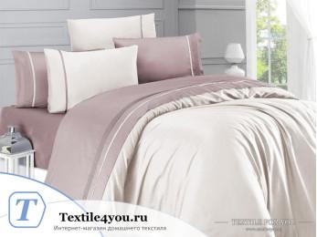 Постельное белье DO&CO  STYLE Сатин (Евро) Пудра