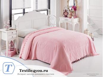 Простынь махровая PHILIPPUS MATILDA 160x220 см - Розовый