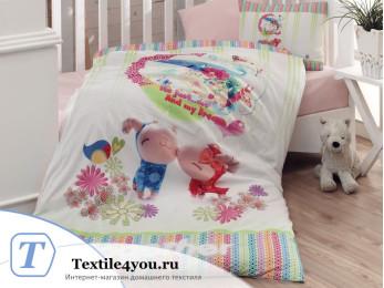 Постельное белье DANTELA VITA 3D ZUZU для новорожденных