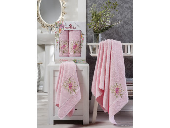 Набор полотенец MERZUKA BOTANIC (2 шт.) Светло-розовый
