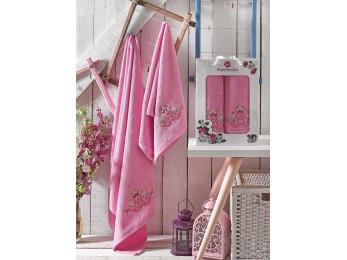 Набор полотенец MERZUKA DEMO (2 шт.) Розовый