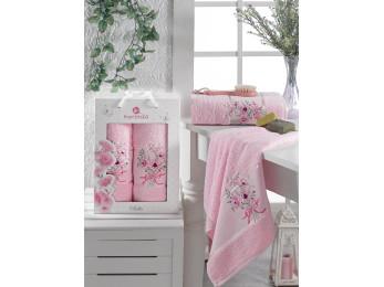 Набор полотенец MERZUKA BELLA (2 шт.) Светло-розовый