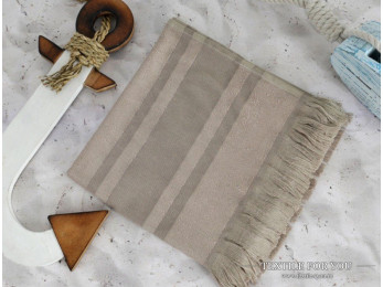 Полотенце бамбуковое IRYA DERIN - 50x90 см (1 шт.) - Коричневый