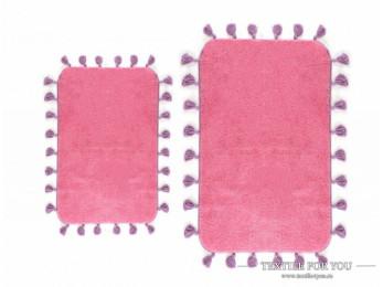 Коврик для ванной IRYA JOY (60x90 см) Розовый