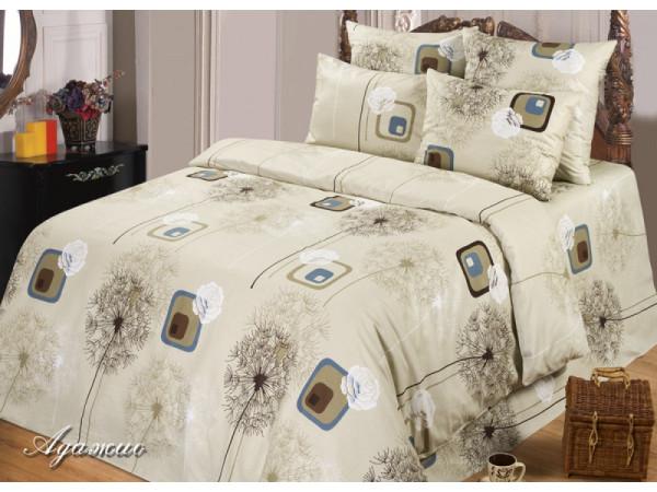Постельное белье Хлопковый Рай Бязь КПБ Адажио Бязь ГОСТ (1.5 спальный)