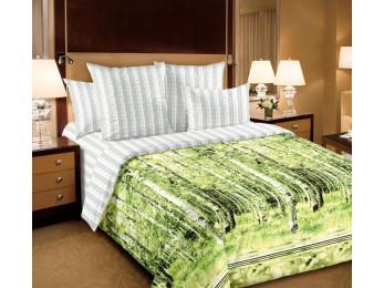Постельное белье Хлопковый Рай Бязь КПБ Березы Бязь (1.5 спальный)