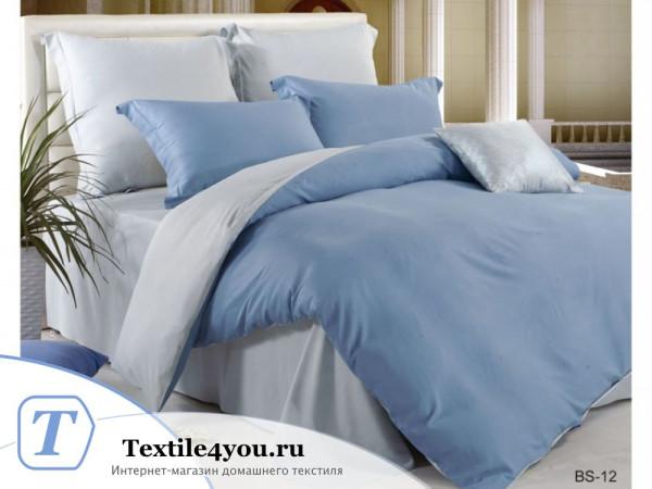 Постельное белье Valtery Сатин Бамбук BS-12 (1.5 спальный)